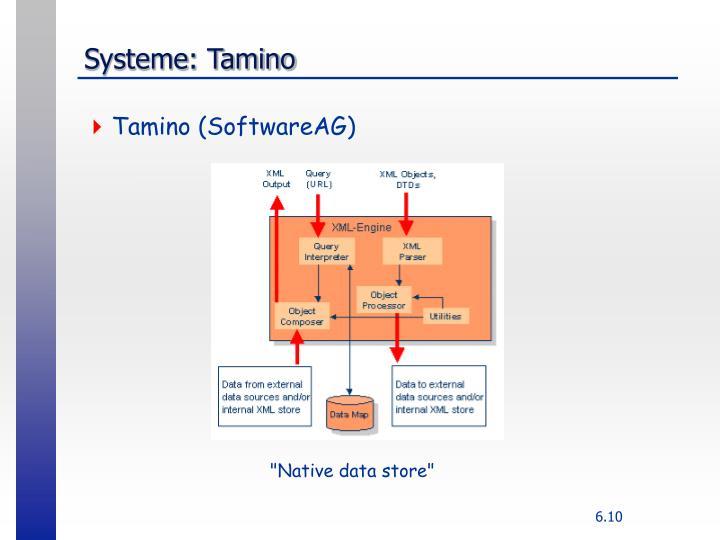 Systeme: Tamino