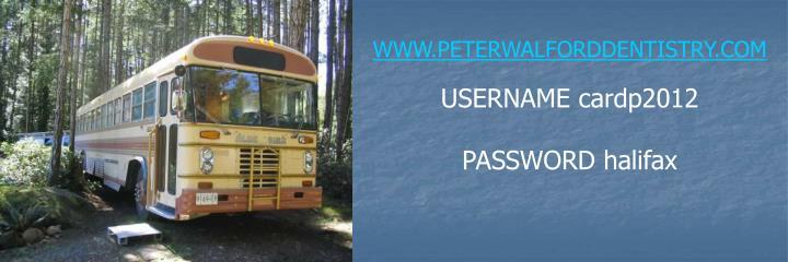 WWW.PETERWALFORDDENTISTRY.COM