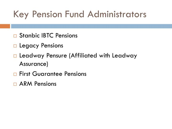 Key Pension Fund Administrators