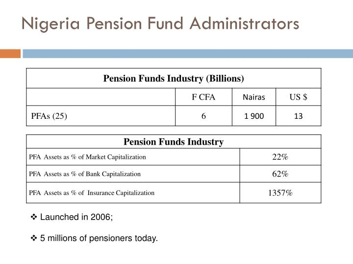 Nigeria Pension Fund Administrators