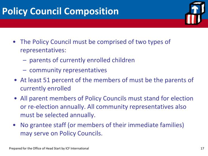 Policy Council Composition
