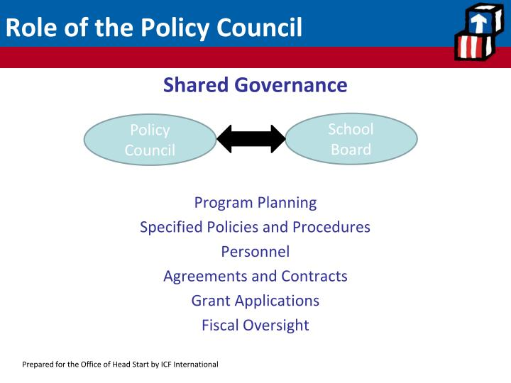 Role of the Policy Council
