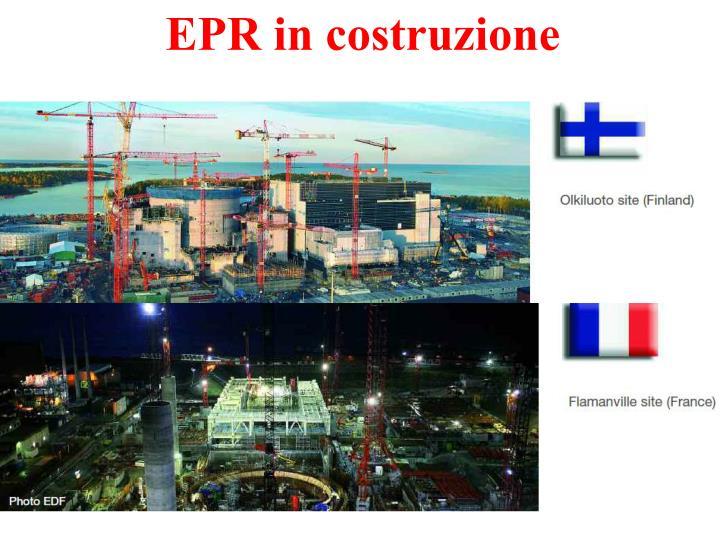 EPR in costruzione