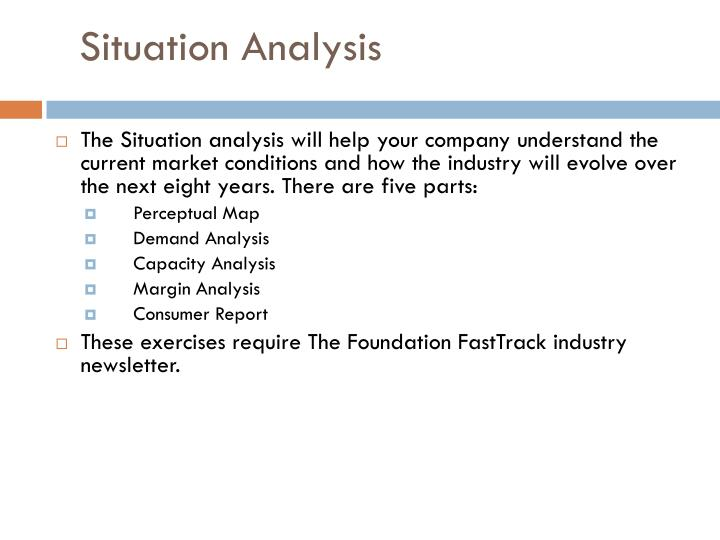 situation analysis ranbuild Situational analysis 1 situation analysis for marketing strategy dr rj fontenot case analysis process logical flow problem identification alternatives recommendations.