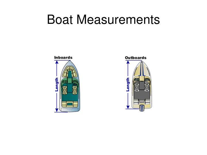 Boat measurements