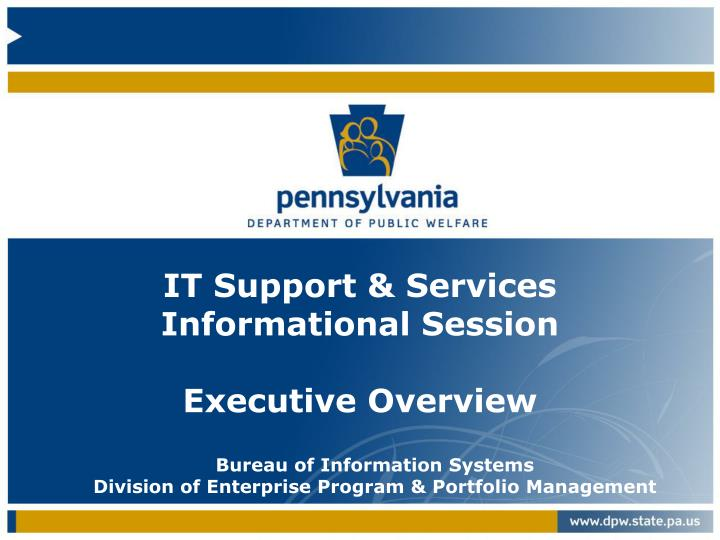 COMMONWEALTH OF PENNSYLVANIA Application for Subsidized