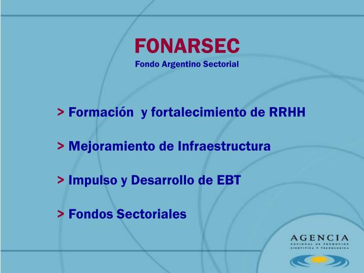 FONARSEC