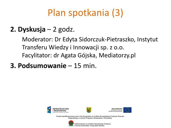 Plan spotkania (3)