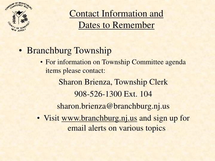 Branchburg Township