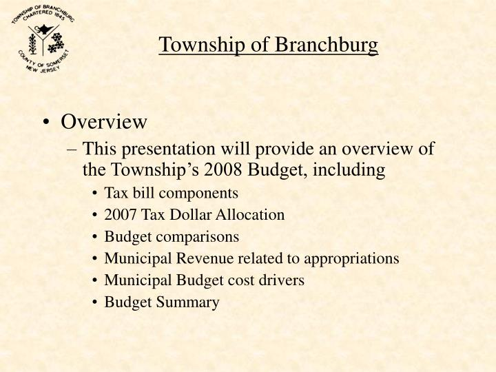 Township of Branchburg