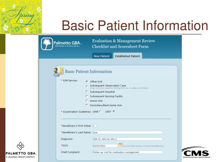 Basic Patient Information