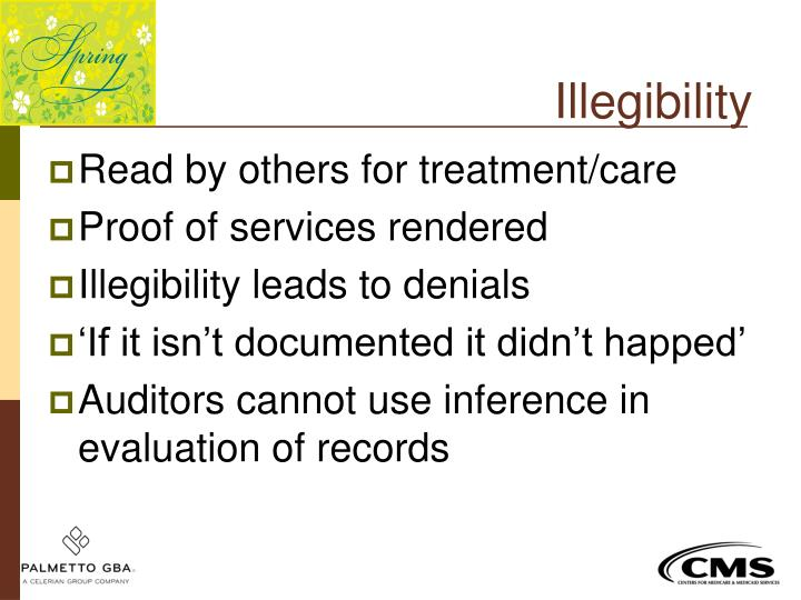 Illegibility