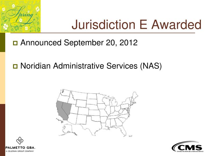 Jurisdiction E Awarded