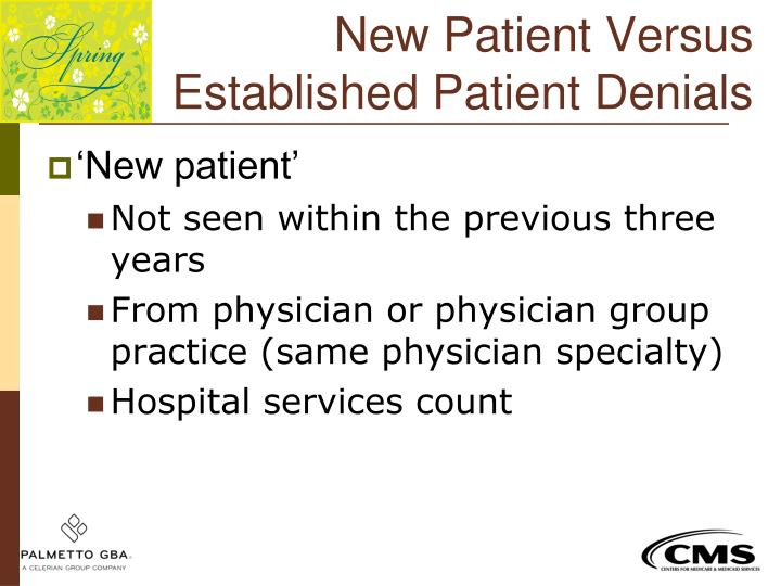 New Patient Versus