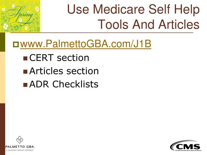 Use Medicare Self Help