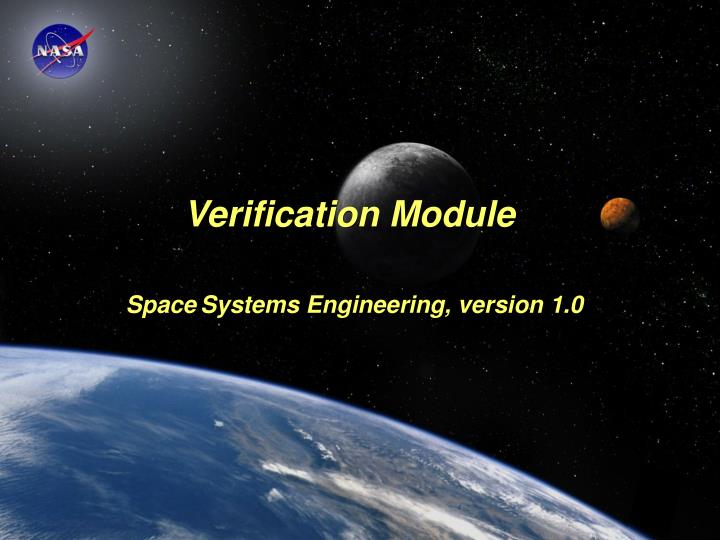 Verification Module