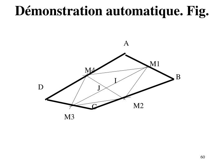 Démonstration automatique. Fig.