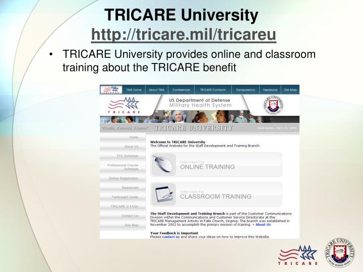 TRICARE University