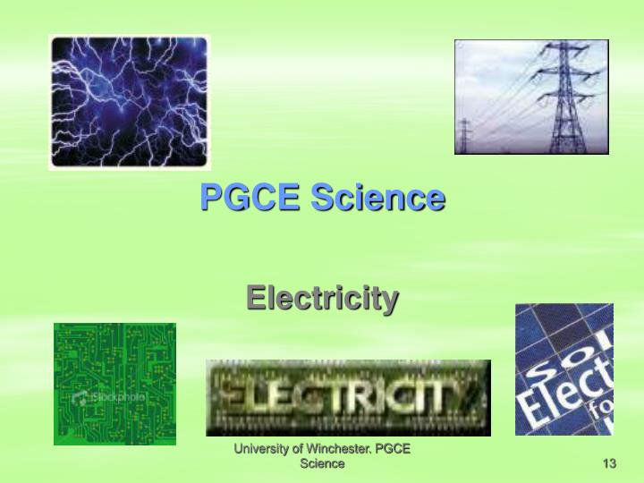 PGCE Science