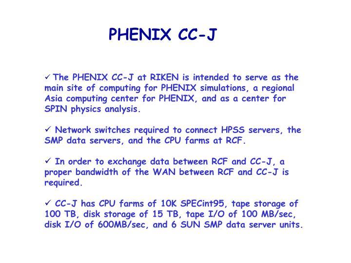 PHENIX CC-J