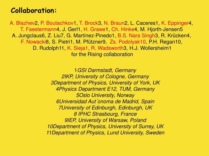 Collaboration: