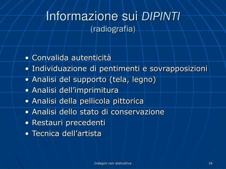 Informazione sui