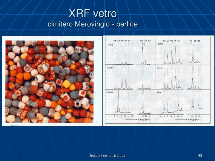 XRF vetro