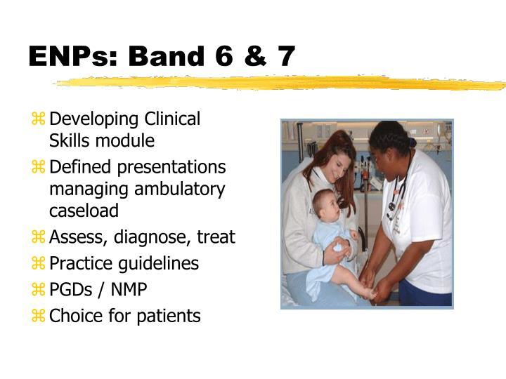 ENPs: Band 6 & 7