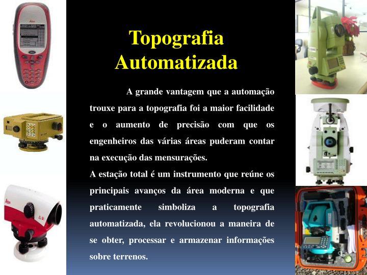 Topografia Automatizada
