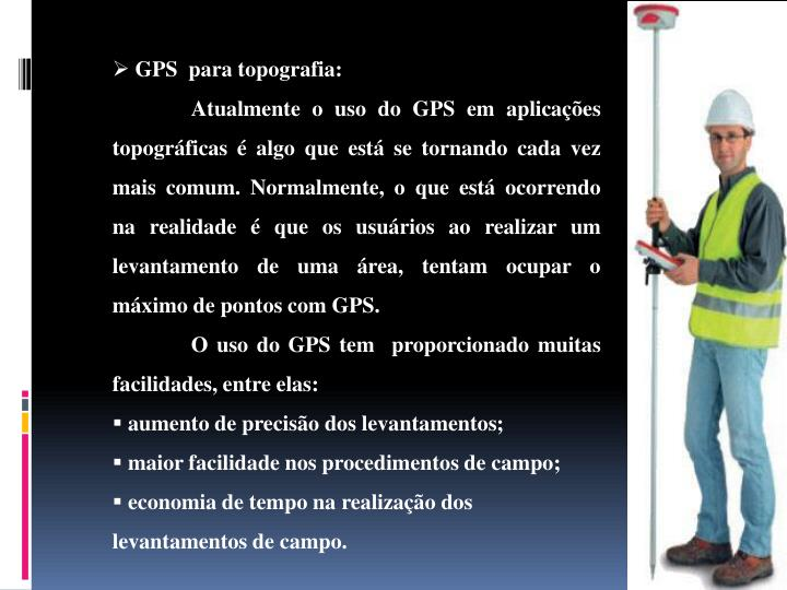 GPS  para topografia: