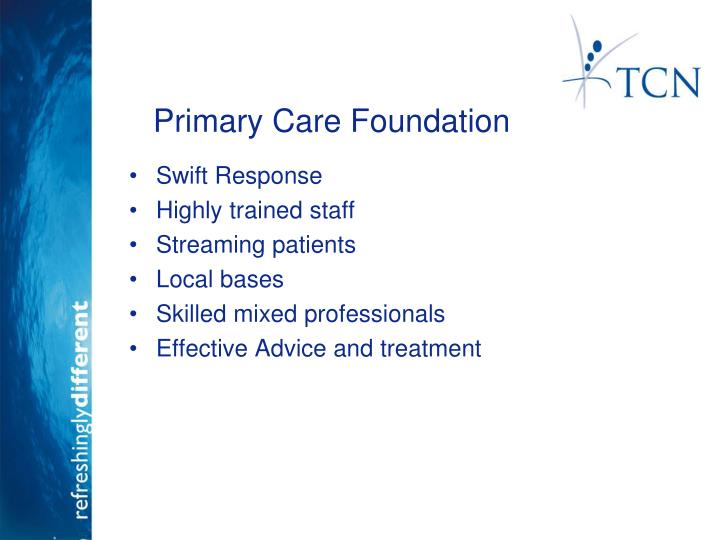 Primary Care Foundation