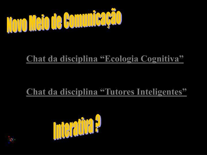 Novo Meio de Comunicação