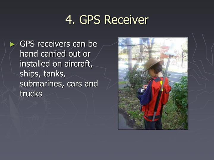4. GPS Receiver