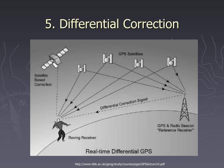 5. Differential Correction