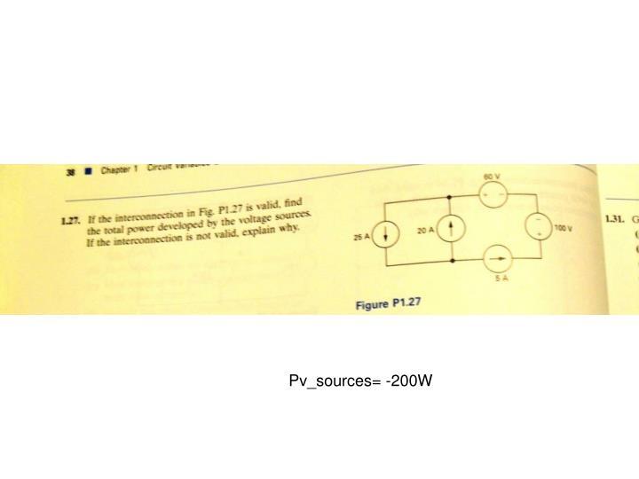 Pv_sources= -200W