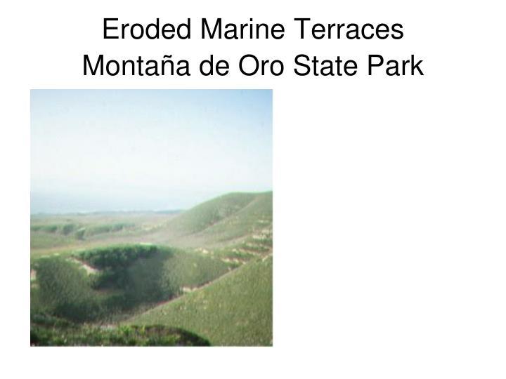 Eroded Marine Terraces