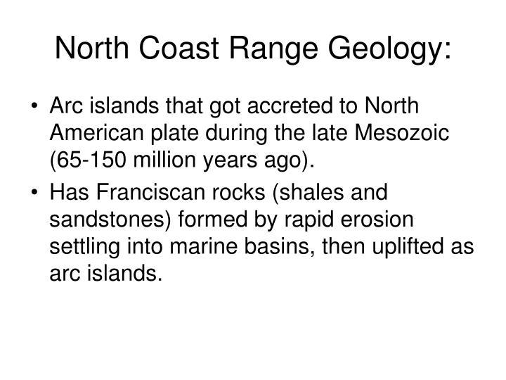 North Coast Range Geology:
