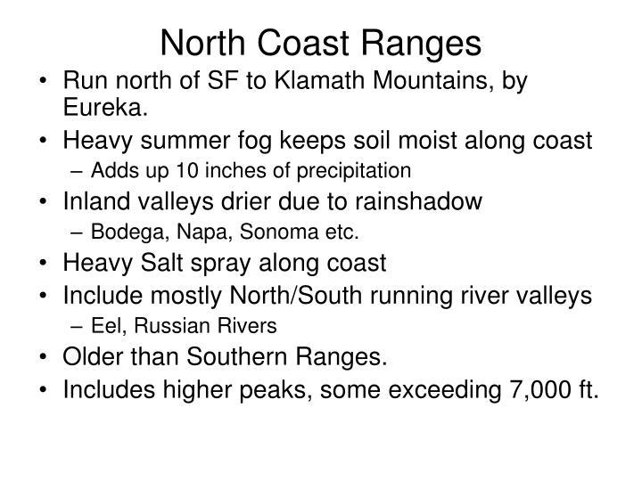 North Coast Ranges