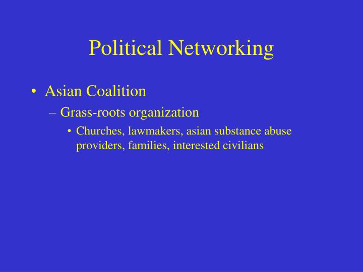 Political Networking