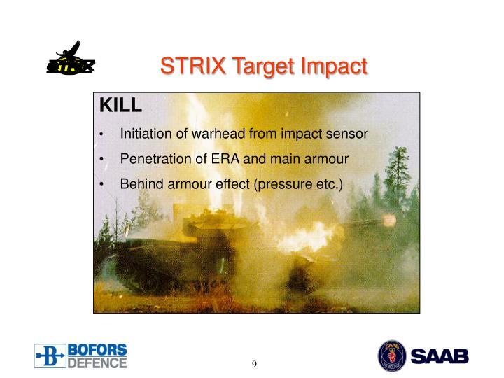 STRIX Target Impact
