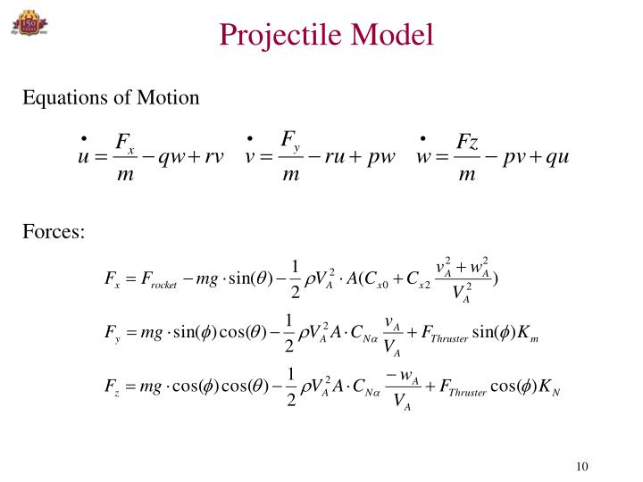 Projectile Model