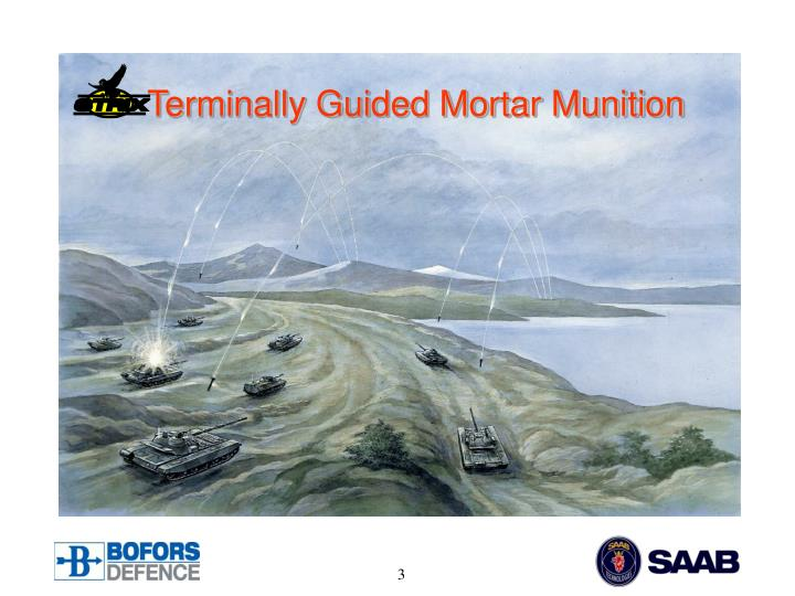 Terminally Guided Mortar Munition