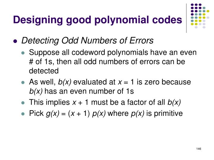 Designing good polynomial codes