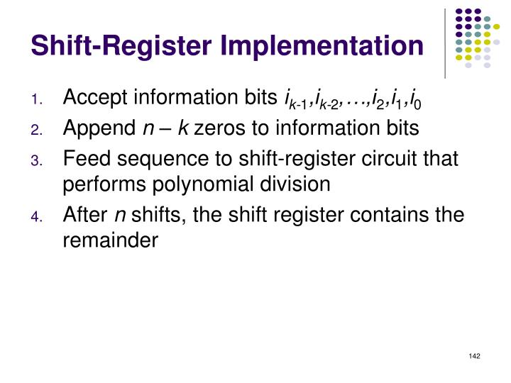 Shift-Register Implementation