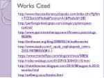 works cited1