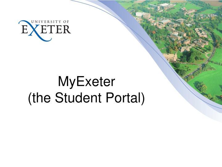 MyExeter