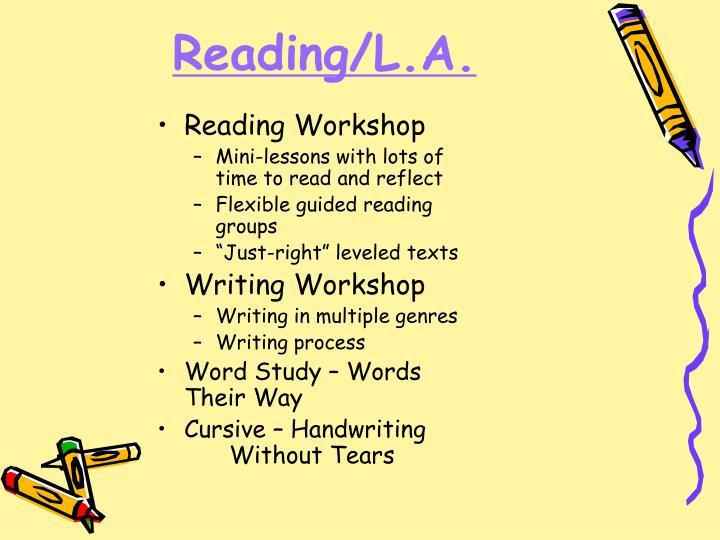Reading/L.A.
