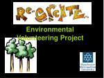 environmental volunteering project