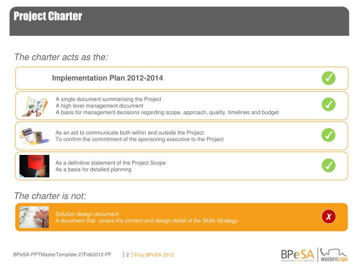 Project charter1