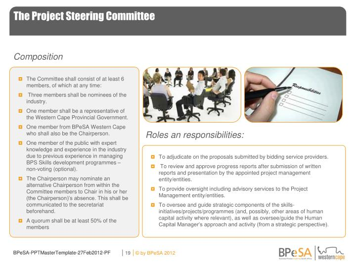 The Project Steering Committee